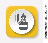 lighter icon | Shutterstock .eps vector #380453644