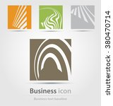 originally created business... | Shutterstock .eps vector #380470714