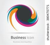 originally created business... | Shutterstock .eps vector #380470771