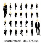 people street fashion vector... | Shutterstock .eps vector #380476651