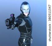 3d cg rendering of a super hero | Shutterstock . vector #380511547