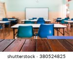look out from the table  blur... | Shutterstock . vector #380524825