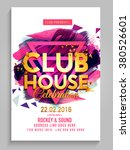 party flyer  banner or template ... | Shutterstock .eps vector #380526601