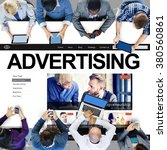 Small photo of Advertising Campaign Promote Branding Marketing Concept