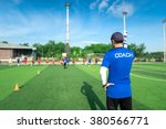 Blurred Image Of Coach Is...