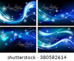 vector holiday backgrounds ... | Shutterstock .eps vector #380582614