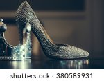 female sprakling glamour luxury ... | Shutterstock . vector #380589931