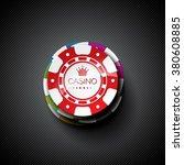 vector illustration on a casino ... | Shutterstock .eps vector #380608885