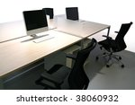 business office - stock photo