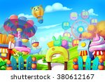 creative illustration and... | Shutterstock . vector #380612167