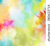 rainbow powder | Shutterstock . vector #380623714