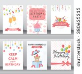 happy birthday  holiday ...   Shutterstock .eps vector #380635315