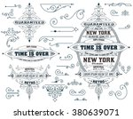 set of elements and  banners | Shutterstock .eps vector #380639071