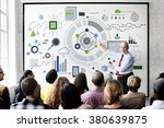information technology digital... | Shutterstock . vector #380639875