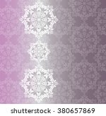 vector baroque ornament pattern ...