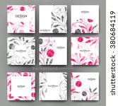 floral ornament vector brochure ... | Shutterstock .eps vector #380684119