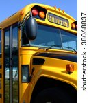 Detail Of A School Bus In...