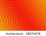 yellow and red wallpaper... | Shutterstock . vector #38070478