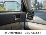modern car interior  passenger... | Shutterstock . vector #380731654