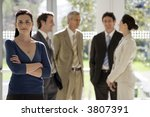 relaxed and confident...   Shutterstock . vector #3807391