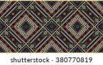 vector floral seamless pattern... | Shutterstock .eps vector #380770819