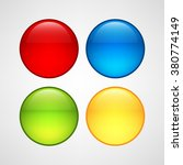 web buttons set | Shutterstock .eps vector #380774149