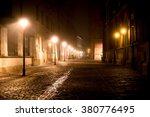 Krakow After Dark. Foggy...