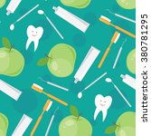 dental and oral care. vector...   Shutterstock .eps vector #380781295