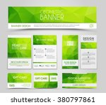 design of flyers  banners ... | Shutterstock .eps vector #380797861