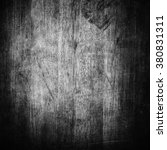 old black wood texture for... | Shutterstock . vector #380831311