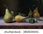 Still Life With Pears On A...