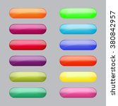 set of colorful rounded web... | Shutterstock .eps vector #380842957