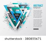 abstract background with... | Shutterstock .eps vector #380855671