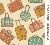 vector hand drawn sketch style... | Shutterstock .eps vector #380861479