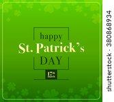 Saint Patrick\'s Day Vector Wit...