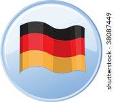 illustration of flag on white | Shutterstock .eps vector #38087449