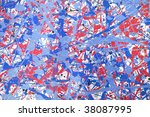 abstract artistic background of ... | Shutterstock . vector #38087995