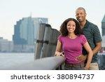 portrait of a couple | Shutterstock . vector #380894737