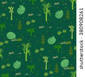 pattern in era of dinosaurs... | Shutterstock .eps vector #380908261