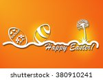 easter card | Shutterstock .eps vector #380910241