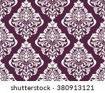 vector damask seamless pattern... | Shutterstock .eps vector #380913121
