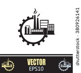 industrial icon | Shutterstock .eps vector #380926141