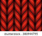 seamless knitted pattern. | Shutterstock .eps vector #380944795