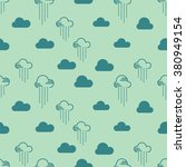 seamless pattern clouds and... | Shutterstock .eps vector #380949154
