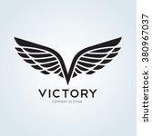 Victory Wing V Letter  Eagle...