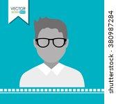 user profile design  | Shutterstock .eps vector #380987284