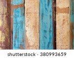 abstract grunge wood texture... | Shutterstock . vector #380993659