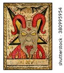 The Devil.  Full Colorful Deck...