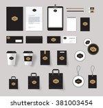 corporate branding identity...   Shutterstock .eps vector #381003454