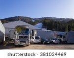 hinterstoder   austria  ... | Shutterstock . vector #381024469